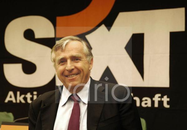 Bilanzpressekonferenz der Sixt AG