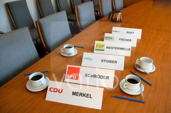 Koalitionsgespraeche