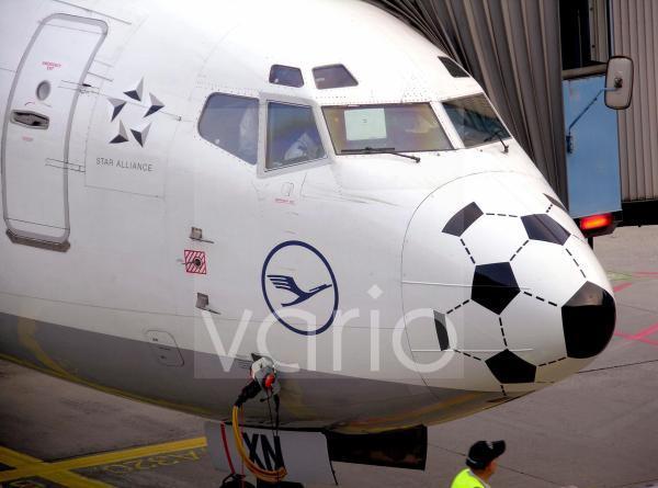 Lufthansaflugzeug