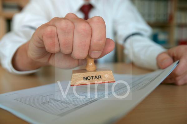 Stempel Notar
