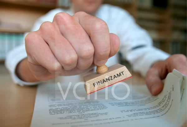 Stempel Finanzamt