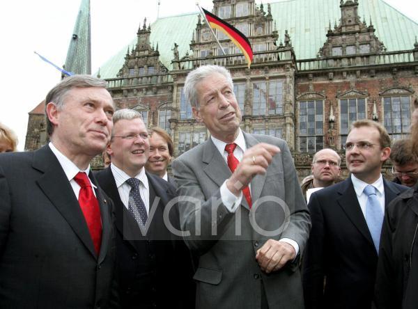 Horst KOEHLER mit Bremer Senat