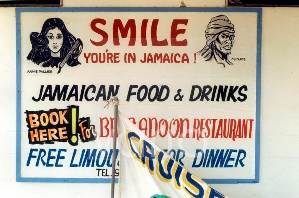Restaurant-Werbeschild