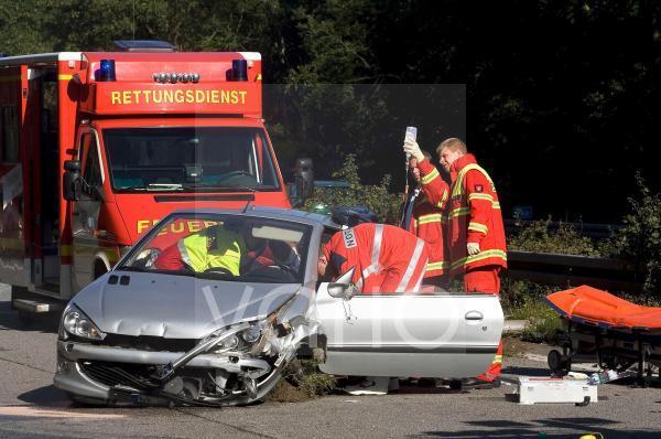 Verkehrsunfall auf der A3
