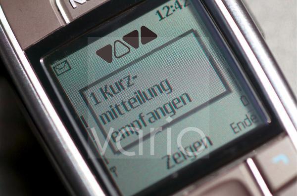 Handy mit SMS