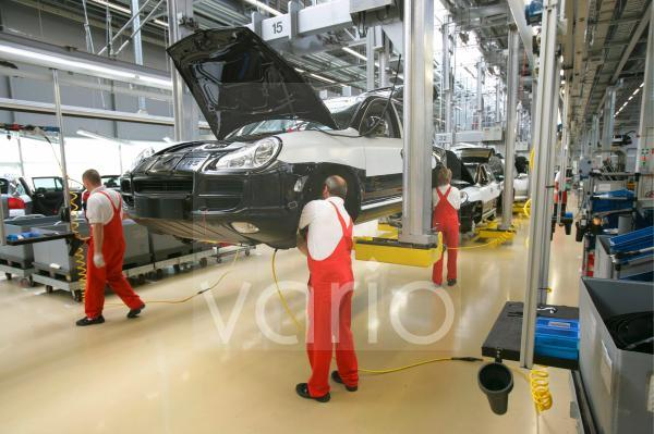 Produktion Porsche Cayenne