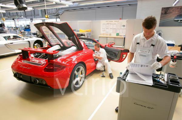 Produktion Porsche Carrera GT