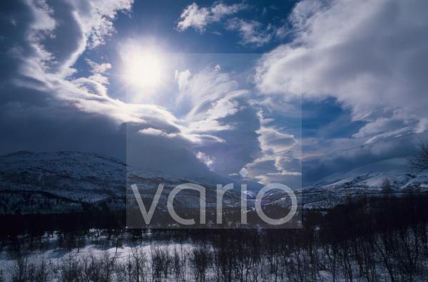 Sonne über Saltfjellet