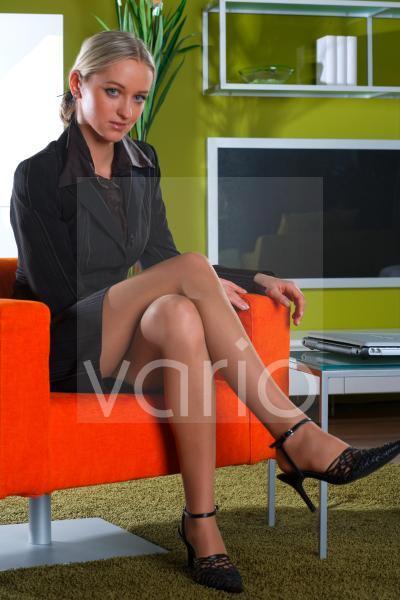 Frau im Businessoutfit