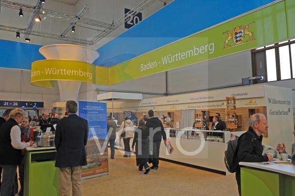 Stand von Baden Wuerttemberg auf der gruenen Woche 2010 in Berlin