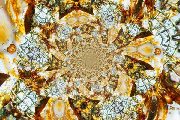 Kaleidoskopische Strukturen