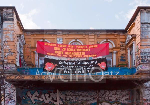 Protest gegen den Atomstrom in Hamburg
