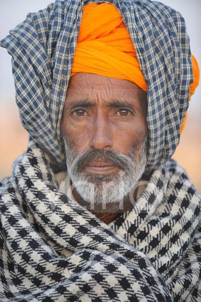 Indian man portrait