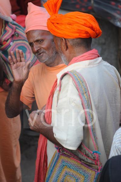 Indian holy men