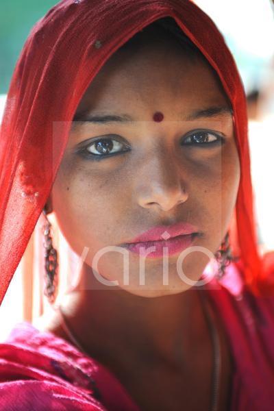 Indian girl closeup