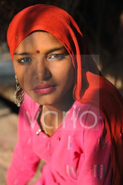 Indian young woman portrait