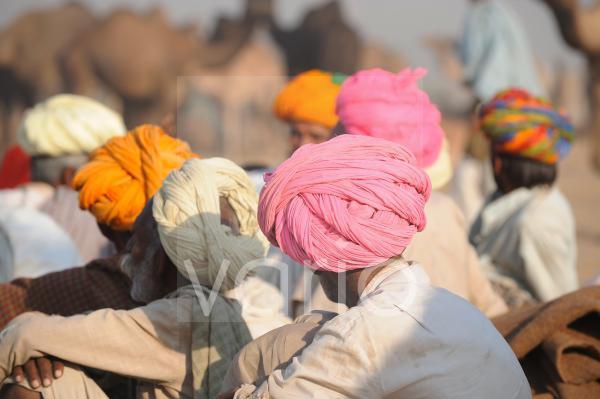 Turbans in Pushkar fair