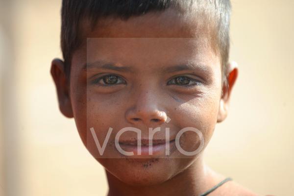 Cute indian girl in Pushkar fair