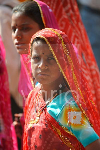 Indian girl with traditional dress
