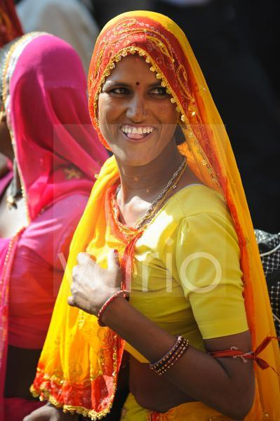 Indian woman with traditional dress