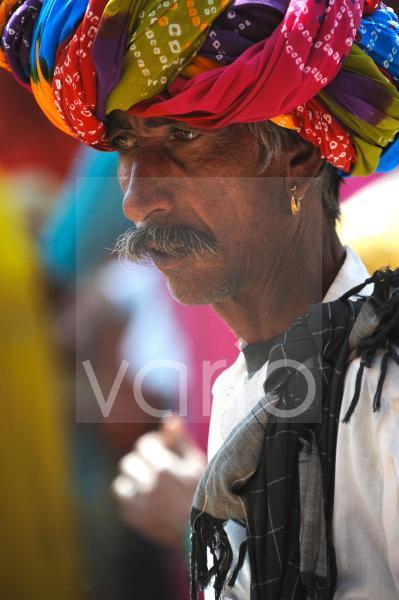Indian man with turban