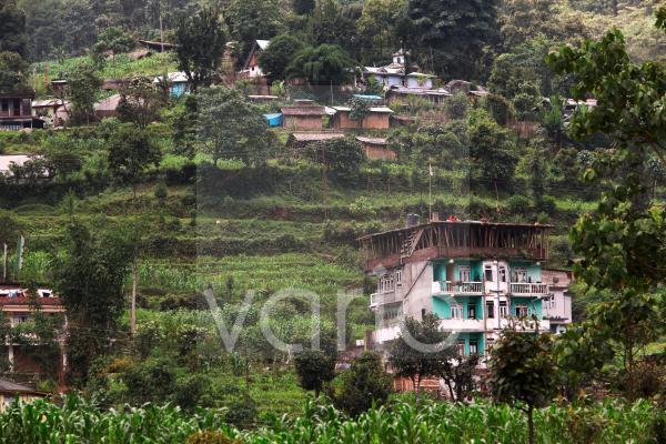 Darap Village rests on a hillside in West Sikkim