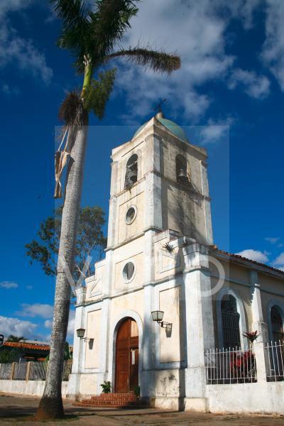 Kirche von Vinales, Kuba, Große Antillen, Karibik