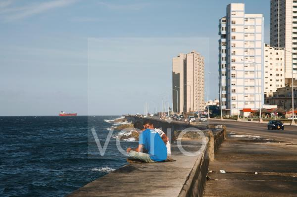 Der Malecon in Havanna, Kuba, Große Antillen, Karibik