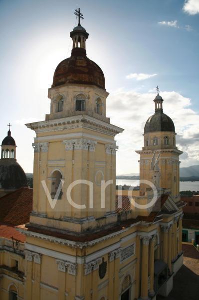 Die Kathedrale von Santiago de Cuba, Kuba, Große Antillen, Karibik