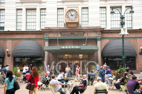 Haupteingang zum Traditions-Kaufhaus Macy's, Herald Square, Platz, Kreuzung von Broadway und 6th Avenue, New York City, USA, Nordamerika, Amerika
