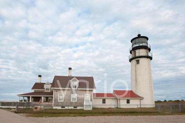 Leuchtturm Highland Light, North Truro, Cape Cod National Seashore, Massachusetts, Neuengland, USA, Nordamerika, Amerika