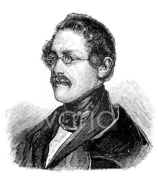 Anton Alexander Graf von Auersperg, 1806 - 1876, Pseudonym Anastasius Grün, slowenisch Zelenec, war als Politiker und deutschsprachiger politischer Lyriker ein einflussreicher und gefeierter Vertreter