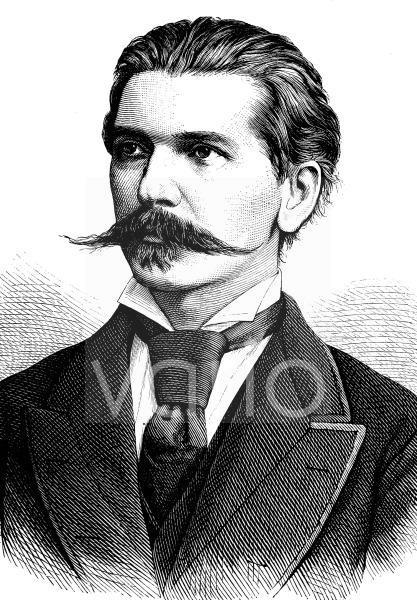 Benjámin von Kállay, auch Béni Kállay de Nagy-Kálló, 1839 - 1903, war ungarisch-österreichischer Politiker, von 4. Juni 1882 bis zu seinem Tod k.u.k. gemeinsamer Finanzminister Österreich-Ungarns und