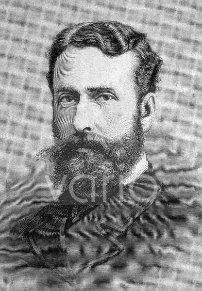 Louis Mountbatten, 1. Marquess of Milford Haven, geboren als Prinz Ludwig Alexander von Battenberg, 1854 - 1921, ein britischer Admiral hessischer Herkunft, der von 1912 bis 1914 als Erster Seelord fu
