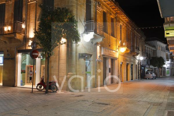 Altstadt von Nicosia, Nikosia bei Nacht, Zypern, Europa
