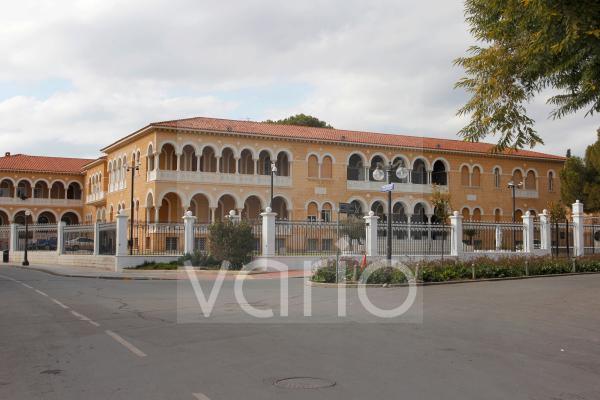 Palast des Erzbischofs in der Altstadt von Nicosia, Nikosia, Zypern, Europa