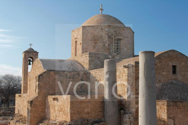 Chrysopolitissa Basilica - Agia Kyriaki und Paulussäulen, Pafos, Zypern, Griechenland, Europa