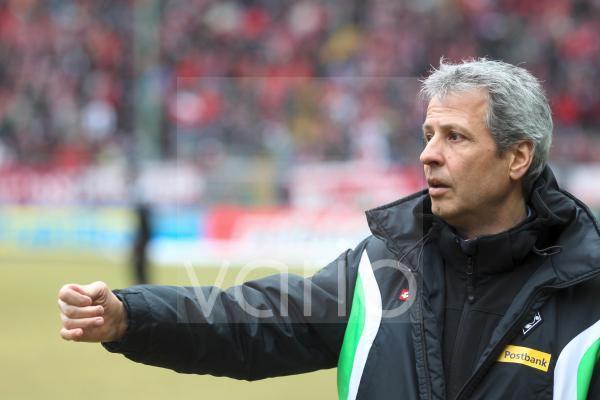 Lucien Favre, Trainer des Fußball-Bundesligisten Borussia Mönchengladbach, Kaiserslautern, Rheinland-Pfalz, Deutschland, Europa