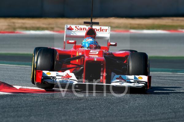 Fernando Alonso, SPA, Ferrari F2012, Formel 1 Testfahrten, Februar 2012, Barcelona, Spanien, Europa