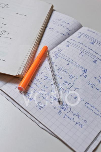 Physikstudium, Unterricht, Notizen