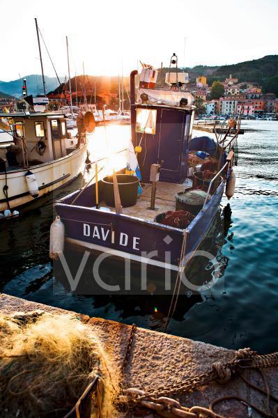 Hafen von Rio Marina, Insel Elba, Italien, Europa