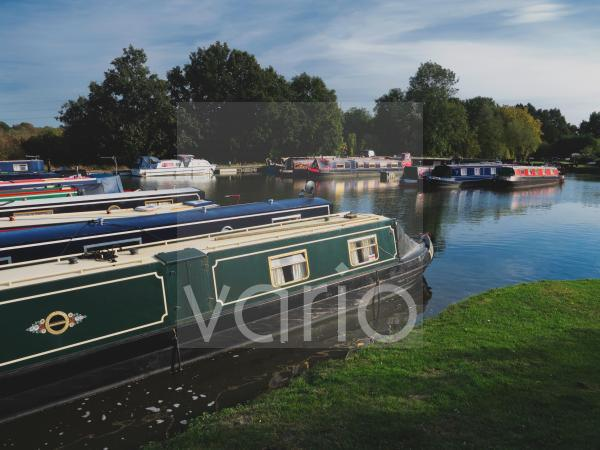 Kingswood canal junction on the Startford upon Avon and Grand Union canals, Lapworth, Warwickshire, England, United Kingdom, Europe