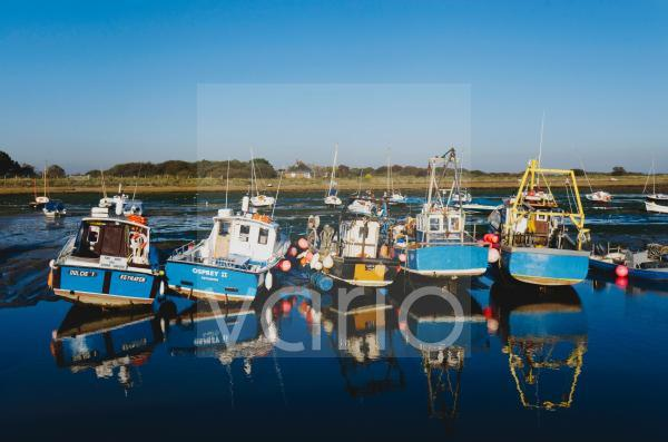 The harbour at Keyhaven, Hampshire, England, United Kingdom, Europe