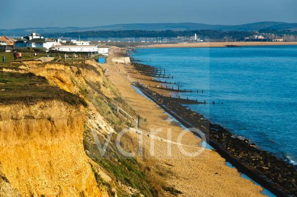 Holiday resort of Milford on Sea, Hampshire, England, United Kingdom, Europe