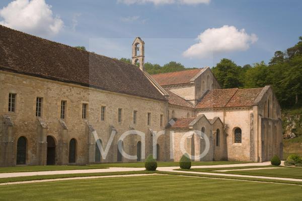 Fontenay Abbey, UNESCO World Heritage Site, Burgundy, France, Europe