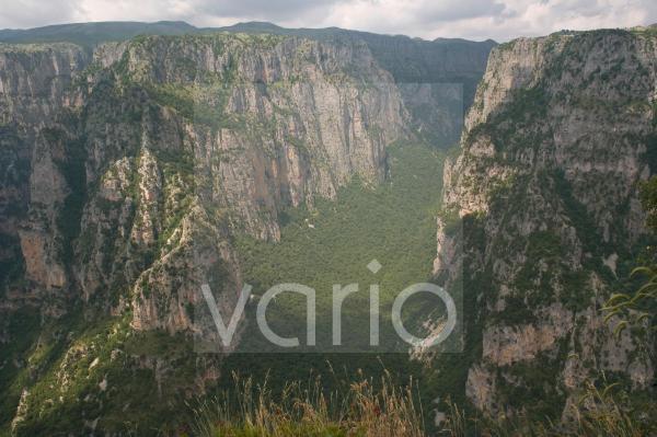 Vikos Gorge, Zagoria mountains, Epiros, Greece, Europe