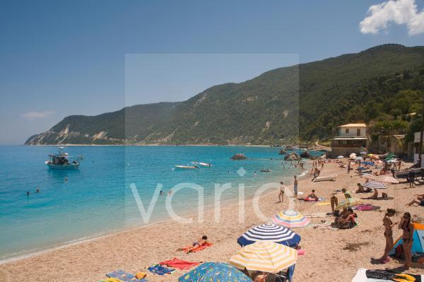 Aghios Nikitas beach, Lefkada, Ionian islands, Greek Islands, Greece, Europe