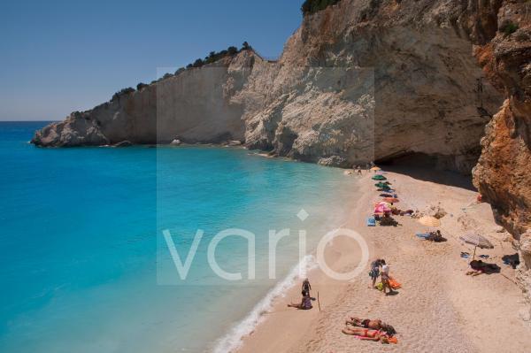 Porto Katsiki beach, Lefkada, Ionian islands, Greek Islands, Greece, Europe