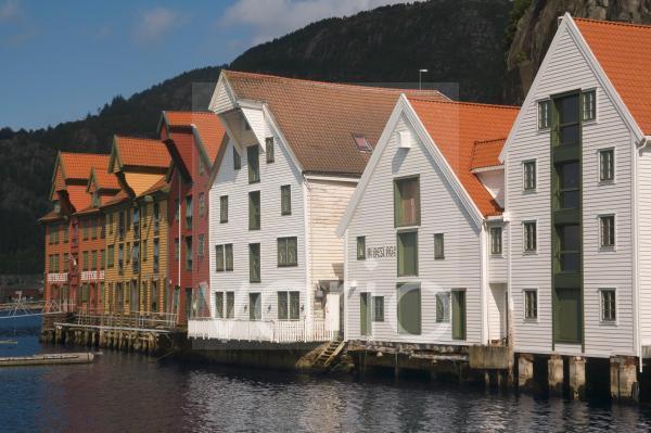 Skuteviken, Bergen, Norway, Scandinavia, Europe