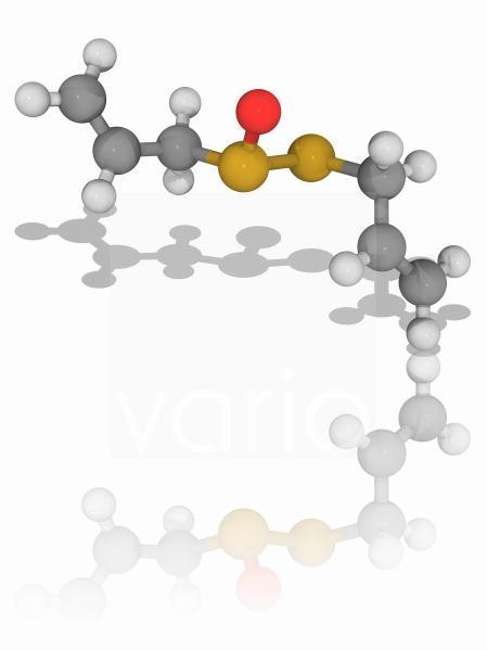 Allicin organic compound molecule